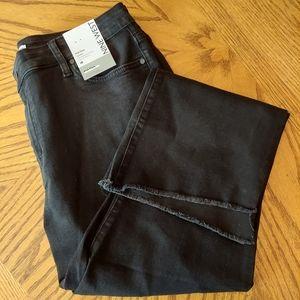 Nine West Jeans Kick Flare Black Size 18